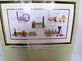 Something Special Antique Trains Counted Cross Stitch Stocking Kit 50347 - $16.82