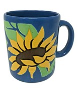 Waechtersbach Blue Sunflower Ceramic Coffee Cup Mug Made in Spain - $59.99
