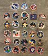 28 PCS NASA Mission Badge Vinyl Stickers Space Shuttle SET Lot - $29.99