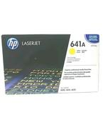 HP LaserJet 641A Yellow Print Cartridge C9722A Printer Toner Ink - $37.02