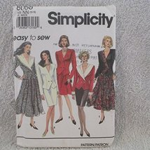 Simplicity Pattern # 8058 Size Nn [ 10-16 ]--MISSES Flared Skirt In Two Lengths, - $8.86