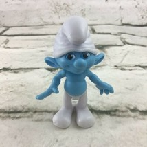 Smurfs 2011 Movie Clumsy Figure PVC Doll Toys R Us Exclusive Jacks Pacif... - $9.89