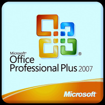 Microsoft Office 2007 Pro - Word, Excel Outlook Publisher etc - 5 PC's - $19.95
