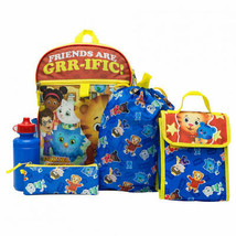 Daniel Tiger 5 Piece Backpack Set Blue - $29.98