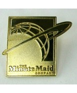 Vintage Rare The Minute Maid Company Employee Pin Back Button Around The... - $23.71