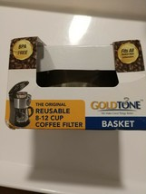 GOLDTONE Coffee Filter Permanent #4 Cone Style Replacement for 8-12 Cup NEW - $6.70