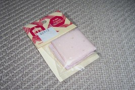 2 pcs Pink Pastel dollhouse miniature pillows 1:12 1 pack of 2 pillows - $5.26