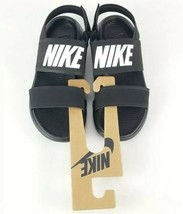 Nike Tanjun Sandals Black/White-Black Size 11  New Without Tags 882694 001 - $31.91