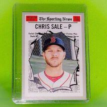 MLB 2019 TOPPS HERITAGE #350 CHRIS SALE BOSTON RED SOX ALL-STAR BASEBALL... - $0.68