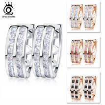 OrsaJewels® 18Pc/Set AAA Cubic Zircon Trendy Earring Female Jewelry - $8.67