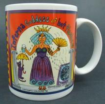Inferno Goddess of Hot Flashes by Ellen Edith - 1998 Coffee / Tea Mug - $4.95