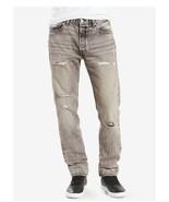 Men's levis original 501 graphite ripped  destroyed size 34 straight leg - $33.24
