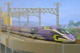 Rokuhan Z gauge T013-5 Shinkansen Evangelion project 500TYPE EVA 5 Car Set - $245.22