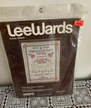 Brand New Lee Wards Cross Stitch Kit 48177 Helping Hand Loving Heart 14 ... - $11.49