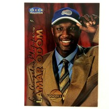 Lamar Odom 1999-00 Fleer Tradition Rookie Card #219 NBA LA Clippers Lake... - $1.93