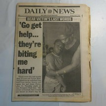 Daily News May 21 1987 Bear Victim Tyree Modlin Prospect Park Zoo Victim M8 - $39.99