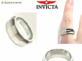 INVICTA STAINLESS STEEL UNISEX RING 2506 $315 retail! - $11.25