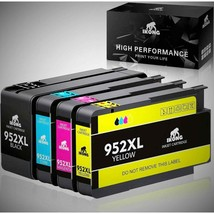 Hp 952XL High Yield Ink Cartridge 4 Pack - $19.80