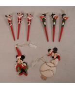 Lot of Mixed 8 Disney Kurt Adler Mickey Christmas Ornament NWT - $24.75