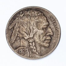 1923-S Five Cent Buffalo Nickel 5C (XF Condition)  - $197.01