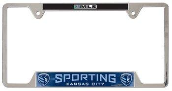 Kansas city sporting license plate 10927
