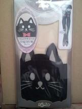 NEW Sexy Cat Ribbon Tattoo Socks Sheer Pantyhose Mock Stockings Tights J... - €10,19 EUR