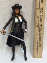 Elizabeth Swann Figurine Pirates of the Caribbean Disney Sword Carrying - $8.90