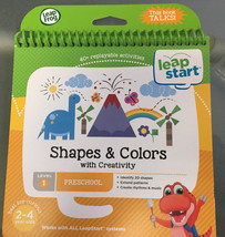 NEW LeapFrog Preschool Activity Book: Shapes and Colors with Creativity - $8.49
