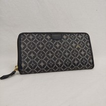 Fossil Sydney Zip Around Clutch Wallet Organizer Multi-Color Geometric Print - $28.60
