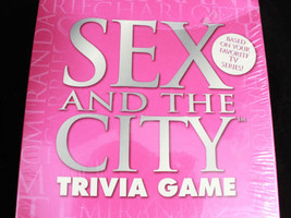 HBO Series, Sex And The City, Trivia womens Board game - $15.95