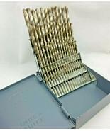 LastCut 60 PC Bright Drill BIt Set #1 to #60 Huot Case.118 Product Indus... - $51.48