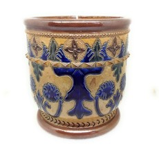 Doulton Lambeth Sotheby's Judd Collection Bailey Fulham Jardiniere Planter - $417.09