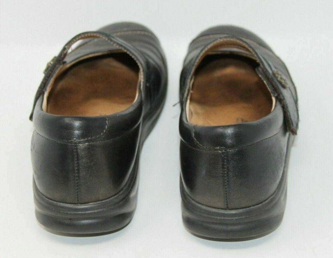 Finn Comfort Size 6.5 M Black Mary Jane Hook & Loop Comfort Orthopedic Shoes image 3