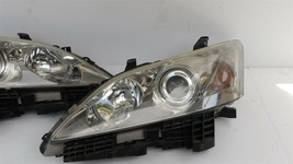 07-09 Lexus ES350 OEM HALOGEN Headlights lamps Set L&R image 2