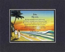 Personalized Touching and Heartfelt Poem for Loving Partners - In You My... - $22.72
