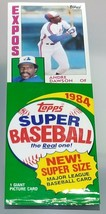 LARGE 1984 Topps Super Size MLB Baseball Picture Card Pack - Andre Dawson - $4.94