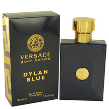 Versace Pour Homme Dylan Blue by Versace Gift Set -- 3.4 oz Eau de Toile... - $68.75