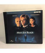 DIVX MEET JOE BLACK MOVIE 1999 BRAD PITT ANTHONY HOPKINS UNIVERSAL NOT D... - $12.38