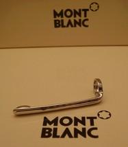MontBlanc pen replacement spare parts Pocket Clip Mont Blanc New Platinum - $29.39