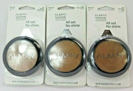Almay Pressed Powder All Set No Shine*Choose your shade*Cracked Case*See... - $12.59
