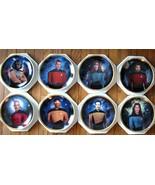 Star Trek The Next Generation Hamilton 8 plate collection . - $300.00