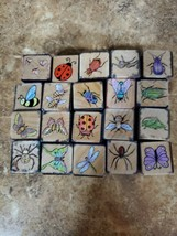 Lot Of 20 Hero Arts Bug Stamps - $14.85
