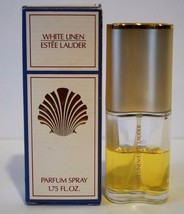 White Linen by Estee Lauder 1.75oz 50 ml Parfum Spray 50% Full - $17.60