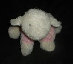 Carter's Pink & White Baby Lamb Sheep # 39819 Stuffed Animal Plush Toy Lovey - $45.82