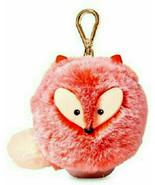 Bath Body Works Orange Fuzzy FOX Pom Clip ~PockETBA Holder ~ New - £13.63 GBP