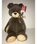 "Ganz Casey Teddy Bear Chocolate Brown Stuffed Animal Plush 12"" NEW - $28.97"