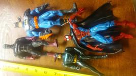 4  Vintage Action figures Batman Spiderman - $20.00