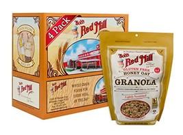 Bob's Red Mill Gluten Free Honey Oat Granola, 12-ounce Pack of 4