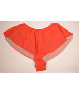 Only Hearts Hot Shorts Red Double Layered Panty P/S - $34.65