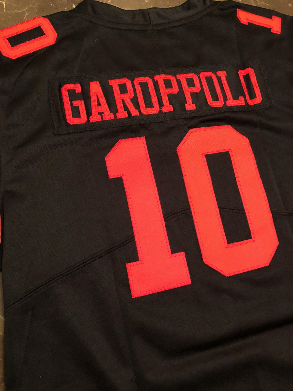 online store fc7fc 9b189 Jimmy Garoppolo Womens Stitched Jersey - Red and 19 similar ...